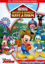 New listing Disney Junior Mickey Mouse Clubhouse Mickey And Donal Have A Farm Like New Dvd