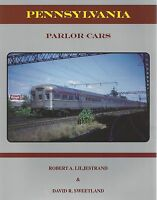 Pennsylvania Railroad PARLOR CARS: stainless steel & steel heavyweight -- (NEW)