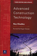 Advanced Construction Technology by Chudley, Roy, Greeno, Roger