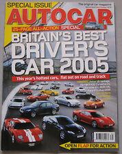 Autocar 27/9/2005 featuring BMW, Jaguar, VW Golf R32, SAAB, Vauxhall, Peugeot