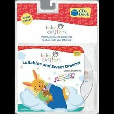 NEW Baby Einstein Lullabies and Sweet Dreams CD and Book