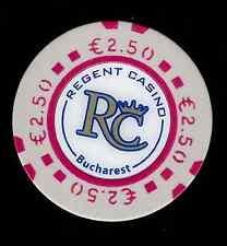 BUCHAREST REGENT CASINO 2.50 EURO CHIP