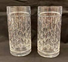 Ralph Lauren Aston Highball Crystal Glasses Tumbler Made Germany-Set Of 2