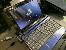 Acer Aspire One ZG5 10.1in. Notebook 120GB Blue