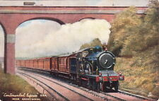RAILWAY :  FAMOUS EXPRESSES I- TUCK 'Oilette' 6493 set of six cards