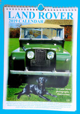 LANDROVER CALENDAR 2019 - A4 wire bound with Landy Info.
