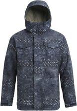 BURTON Men's COVERT Snow Jacket - Indigo Resist - Medium - NWT