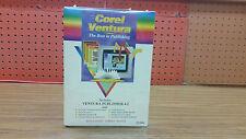 """Corel Ventura 4.2 includes Ventura Publisher 4.2  3.5"""" FMT  SWCV42-ENG3 NIB"""