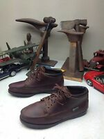 WOMENS USA EASTLAND CASUAL BROWN LEATHER LACE UP ANKLE CHUKKA Boot SIZE 8 W