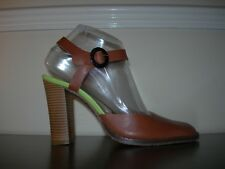 RED OR DEAD WOMEN'S SHOES SANDALS HIGH HEELS BROWN LEATHER EU 38- 39 / UK 5- 6