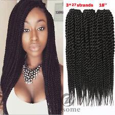 3 Bundles Havana Mambo Twist Crochet Braid Synthetic Senegalese Hair Extensions