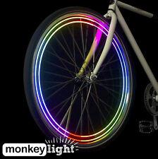 monkeylectric M204 MONKEY LIGHT Speichenlicht mit 4 LEDs, 8 Farben und 5 Themen