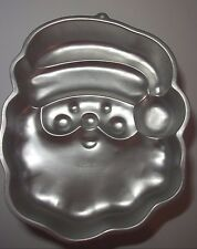 "1991 Wilton Santa cake pan  9 1/2""x11 3/4""x2"""