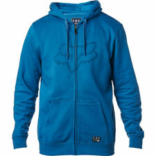 Fox Racing District 3 Zip Fleece Hoody Pullover Pulli Jacke Blau Gr. L *NEU*