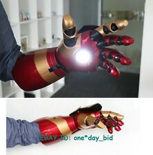 CATTOYS 1:1 IRON MAN MK42 ARM WITH LASER DEVICE+PALM LIGHT +SOUND EFFECT