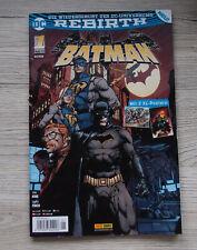Panini Comics Rebirth BATMAN Nr.1 Mai 2017 inkl. 2 XL Postern