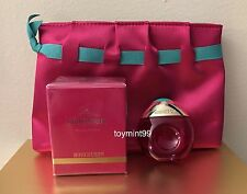 Miss Boucheron Cosmetic Bag & Eau De Parfum Mini 15 Ml New