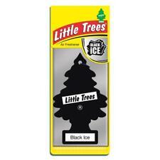 4 X Piccolo Magic Tree Deodorante Auto BLACK ICE Freshner 2D
