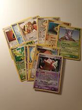 112 Pokémon Carte Pokemon Rare Card ITA EX FireRed & LeafGreen no Charizard GX V