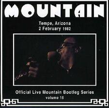 Mountain Live Tempe, Arizona 2nd February 1982 CD NEW SEALED Volume 16