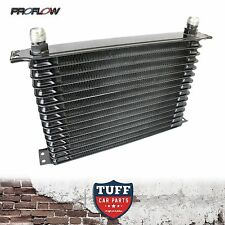 Proflow Auto Transmission Oil Cooler 15 Row 340 X 210 X 50 -10AN Fittings New