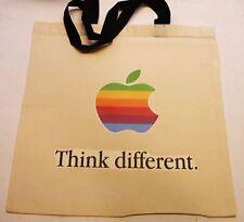 Apple Computer Rainbow Apple Logo Think Different Bag + BH
