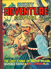 1956 Okay Adventure Annual, Last Stand of Major Wilson cover by Denis McLoughlin