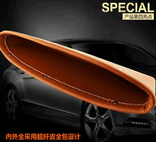 2x Brown PU Leather Seat Gap Slit Pocket Catch Catcher o Storage Organizer Handy