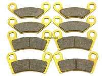 Rear Brake Pads For Polaris 700 Ranger 4x4 6x4 EFI XP 08-09 800 RZR-4 10-13