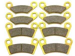 MC Front Rear Brake Pads For Polaris Ranger RZR 800 2008-2014 / S EFI 2009-2013