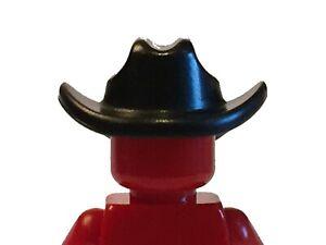 Cowboy hat (black) for Lego Minifigures accessories
