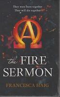 POPULAR FICTION, large paperback, THE FIRE SERMON by FRANCESCA HAIG
