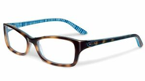 Oakley Tortoise Plaid Eyeglasses OX1088 0153 Demo Lens 53 15 139 Optical Frame