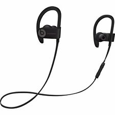 $254 APPLE POWER BEATS 3 WIRELESS by DRE BLACK IN-EAR EARBUDS HEADPHONES MUSIC