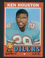 1971 Topps #113 Ken Houston NM/NM+ RC Rookie Oilers 65666