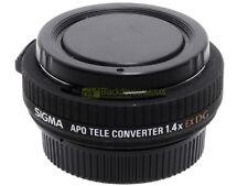 Nikon AF moltiplicatore di focale 1,4x Sigma APO Tele converter EX DG. Perfetto!
