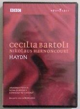 cecilia bartoli / nikolaus harnoncourt  HAYDN  arianna a naxos  DVD NEW