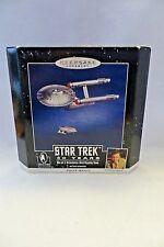 """STAR TREK""  1996  #QXI7534  HALLMARK - MIB  SET OF 2 WITH DISPLAY BASE   SOUND"