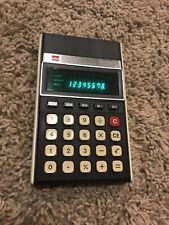 Vintage SHARP EL-8131 ELSI MATE / Electronic Calculator Green LED Screen Working