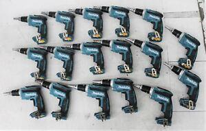 MAKITA XSF03 18V Cordless Drywall Screwdriver Body Only Job Lot x17 NEW