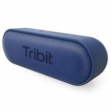 Tribit XSound Go Portable Bluetooth Speaker with Superior Loud Sound IPX7-Blue