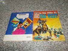 ALBUM LA VERA STORIA DEL FAR WEST SUPER RAF 1973COMPLETO OTTIMO TIPO PANINI EDIS