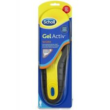 Scholl GelActiv Work Insoles 8-13 for Men