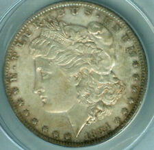 > 1884-O  MORGAN SILVER DOLLAR, ANACS Graded AU58, BEAUTIFUL New Orleans COIN