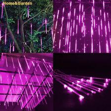144LED Lights Meteor Shower Rain Tube Snowfall Tree Garden Party Xmas 30cm a0