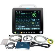 Hospital Icu Multi Parameter Vital Signs Patient Monitor Cardiac Machine9000c4