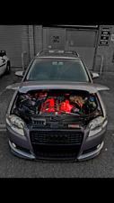 Audi A4 1.8T avant S-line B7 (modified, stance, remapped, 2005, show car)
