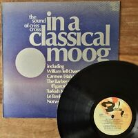 The Sound Of Criss Cross In A Classical Moog (Barclay 920420) 1973 1st UK Vinyl