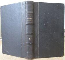 LE MONITEUR BRETON 1845 à 1846 PRESSE 17 N° MENSUELS COTES DU NORD BRETAGNE RARE