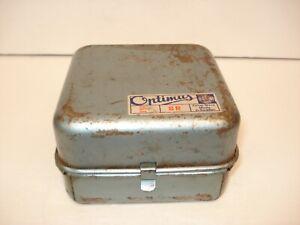 VINTAGE PRIMUS  8 R ( SWEDEN ) GAS CAMP STOVE IN ORIGINAL TIN BOX